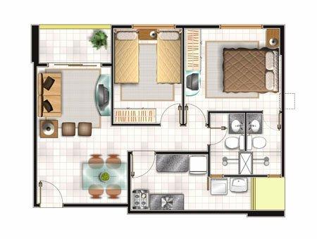 Planos de viviendas gratis de casas pequeñas
