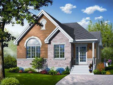 Plano de casa de un pisos cuatro habitaciones y 133 metros cuadrados