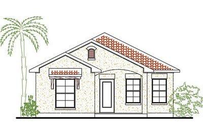 Plano de casa gratis de 3 habitaciones en 111 metros cuadrados