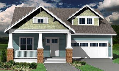 Planos de casas gratis de 2 Pisos, 3 habitaciones, 3 baños en 215 metros cuadrados