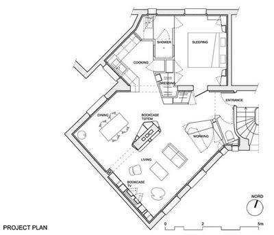 Planos de casas gratis de 6 espacios en 60 metros cuadrados