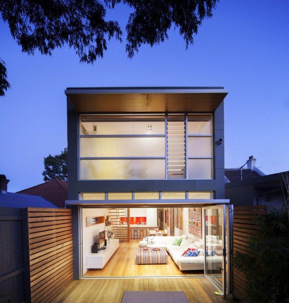 Plano de una casa moderna, Heritage Home en Sidney: Proyecto 46 North Avenue