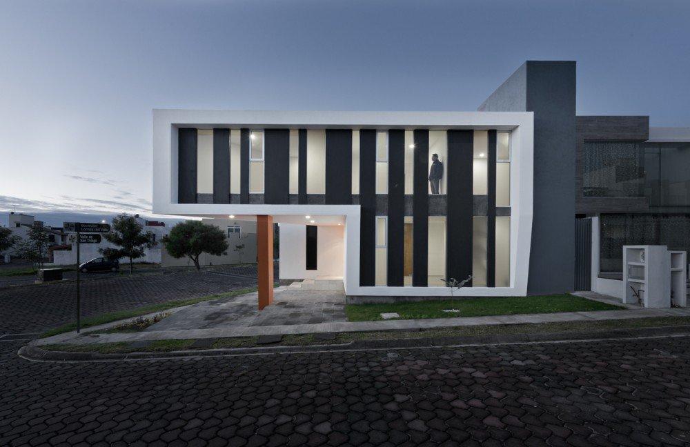 Planos de Casa impresionante en forma de Z  en México por NonWarp