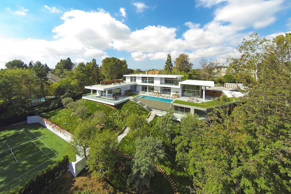 Plano de una Residencia lujosa en California