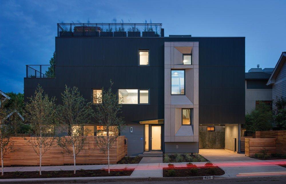 Planos de casas modernas, casa familiar con toques de Lujo y Sostenibilidad