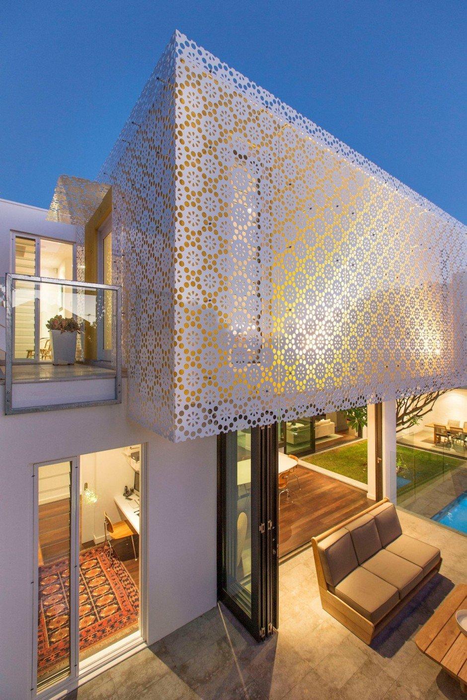 Planos de una casa  moderna en Australia con estilo familiar y casero