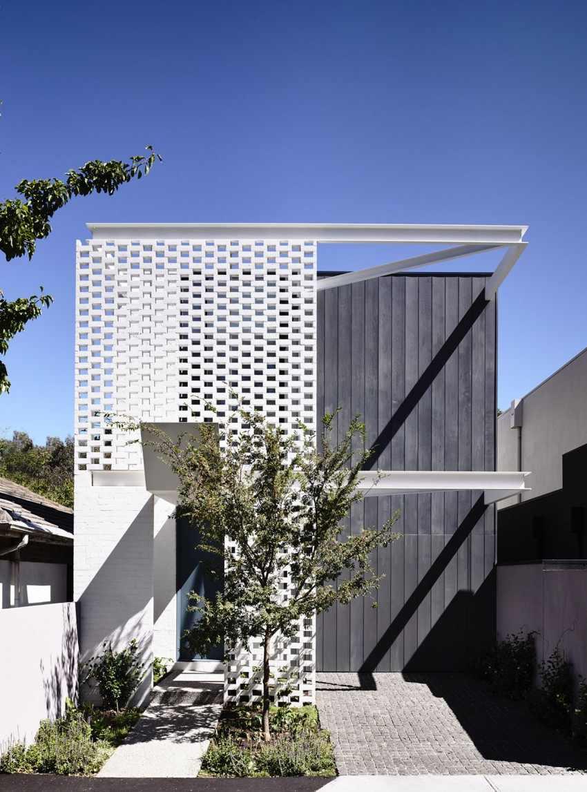 Planos de la Casa Fairbairn Road en Australia
