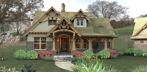 Plano de una casa pequeña con grandes posibilidades para su ampliacion