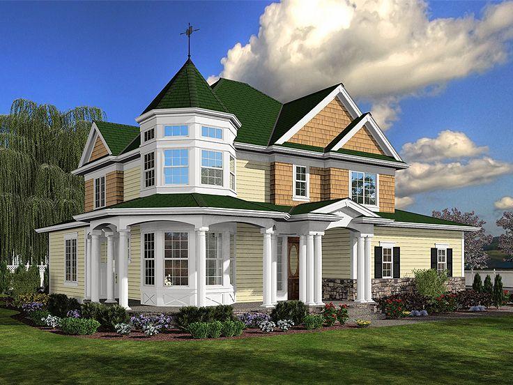 Planos de una Elegante Casa Victoriana